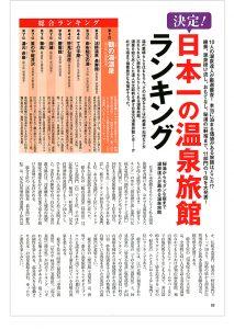 日本一の温泉旅館ランキング